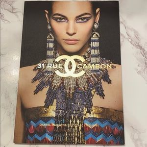 Chanel 20th Edition Magazine Coffee Table Book